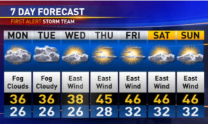 7-day forecast 1-14-13