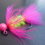 Collared Bug - Pink & Chartreuse