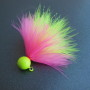 Dinger Jigs - Schlappen Lead - Pink & Chartreuse