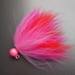 Dinger Jigs Salmon Marabou - Cocktail