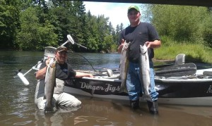 Sam and Cooper Santiam