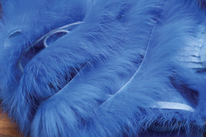 Cross Cut Rabbit Strips Bunny Strips Blue