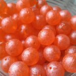 UV Steelhead Beads Spirit River - Snowball Orange