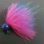 Dinger Jigs - Schlappen Lead - Pink over Blue