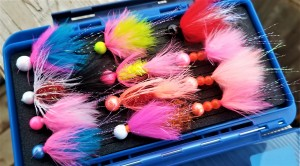 Dinger Jigs Small Box of Steelhead Jigs