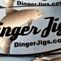 Dinger Jigs Decal