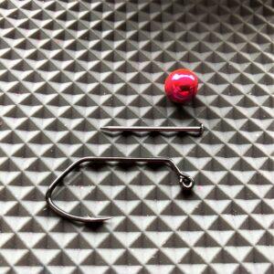 Brass Bead Head Kits - Metallic Pink