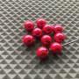 Brass Bead Heads - Metallic Pink