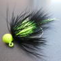 Collared Bug - Black & Chartreuse