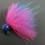 Dinger Jigs - Schlappen Lead - Pink over Blue