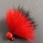 Dinger Jigs - Schlappen Lead - Red over Black